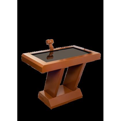 Корпус стола выполнен из металла