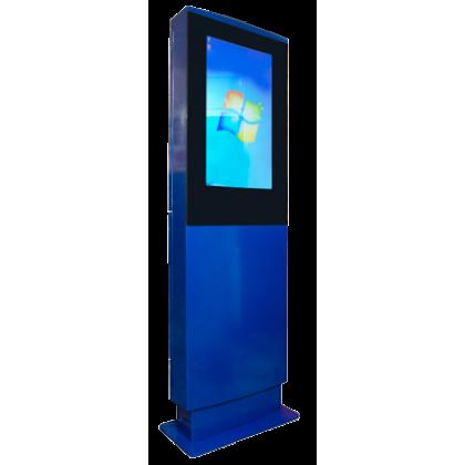 Антивандальный киоск уличного исполнения, с ударопрочным сенсорным экраном 32 дюйма