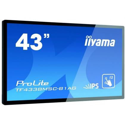 """43"""" Сенсорный монитор IIYAMA ProLite TF4338MSC-B1AG"""