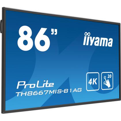 Сенсорный монитор IIYAMA ProLite TH8667MIS-B1AG
