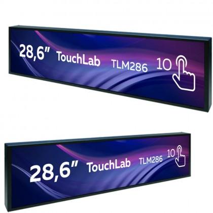 Вытянутый сенсорный монитор 28,6 дюймов
