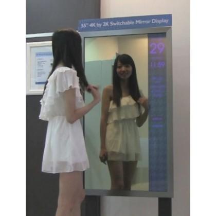 Сенсорное зеркало 55 дюймов