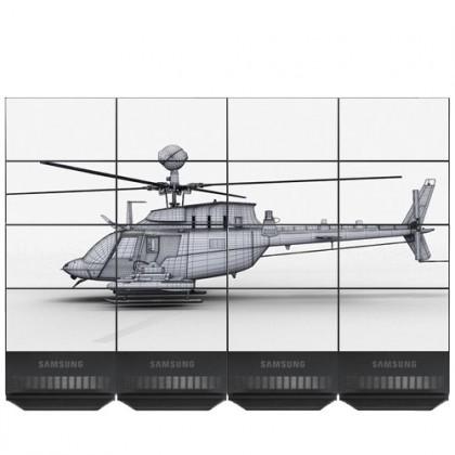 Видеостена 4х4, Samsung UD55D 55 дюймов