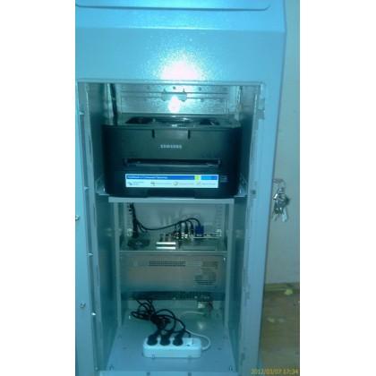 Сенсорный киоск с принтером А4