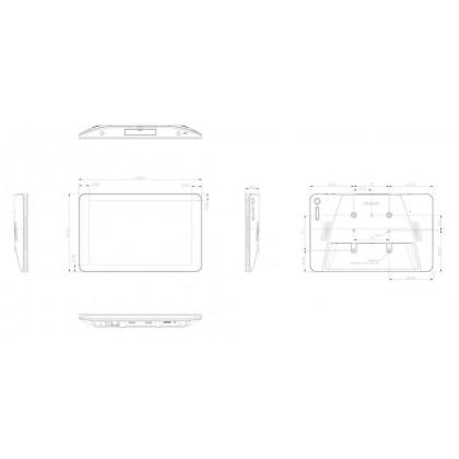 """10"""" Сенсорный монитор Philips 10BDL4151T/00"""