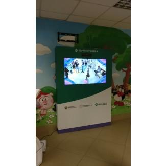 Интерактивные инсталляции для детей и их родителей «Здравографика»